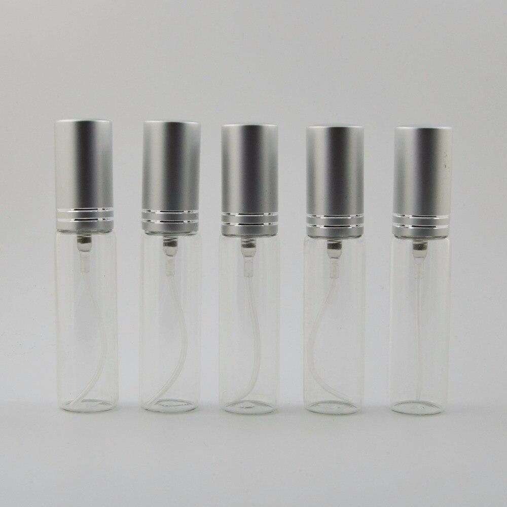 100ชิ้น/ล็อต10มิลลิลิตรสามารถเพิ่มแก้วสเปรย์มินิผู้หญิงขวดน้ำหอมเดินทางแต่งหน้าฉีดน้ำเปล่าเครื่องสำอางภาชนะ-ใน ขวดรีฟิล จาก ความงามและสุขภาพ บน   1