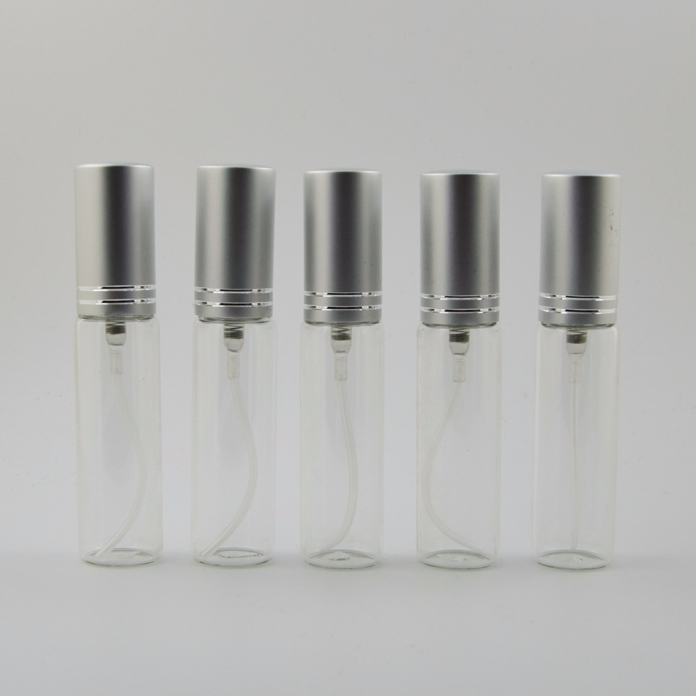 100 pz/lotto 10 ml può essere aggiunto viaggi bottiglia di profumo dello spruzzo di vetro mini donna make up atomizzatore vuota cosmetici container-in Flaconi ricaricabili da Bellezza e salute su  Gruppo 1