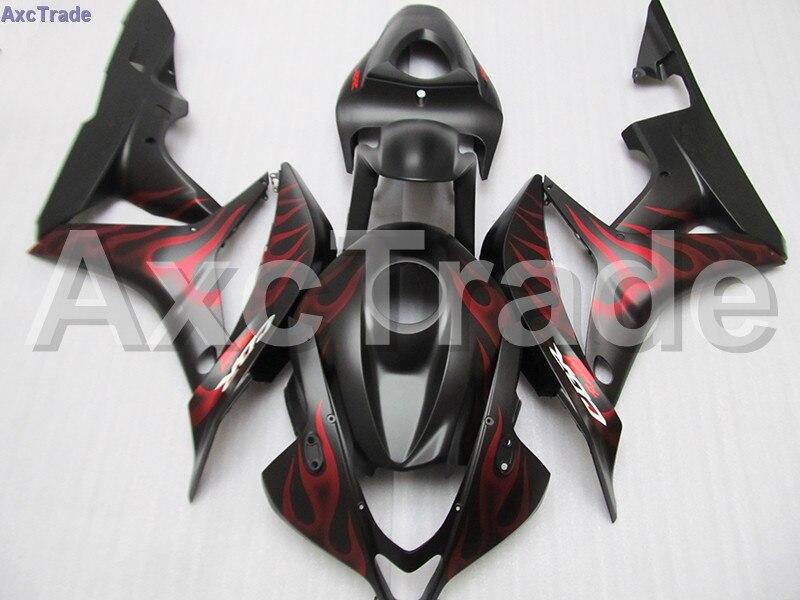 Custom Made Motorcycle Fairing Kit For Honda CBR600RR CBR600 CBR 600 RR 2007 2008 F5 ABS Fairings Kits fairing-kit Bodywork C117 motorcycle fairings for honda cbr600rr cbr600 cbr 600 rr 2007 2008 f5 abs plastic injection fairing bodywork kit red black a611