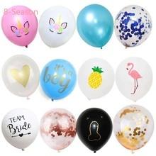 8-Season Wedding Decor Team bride Confetti Bride To Be Bachelorette Party Birthday Decorations Kids Baby Shower