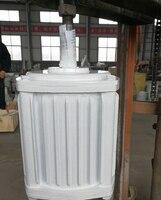 Молниезащита 10000 Вт 200 об./мин. 220 В/380 В постоянный магнит генератор малый ветряной генератор открытый 10000 Вт