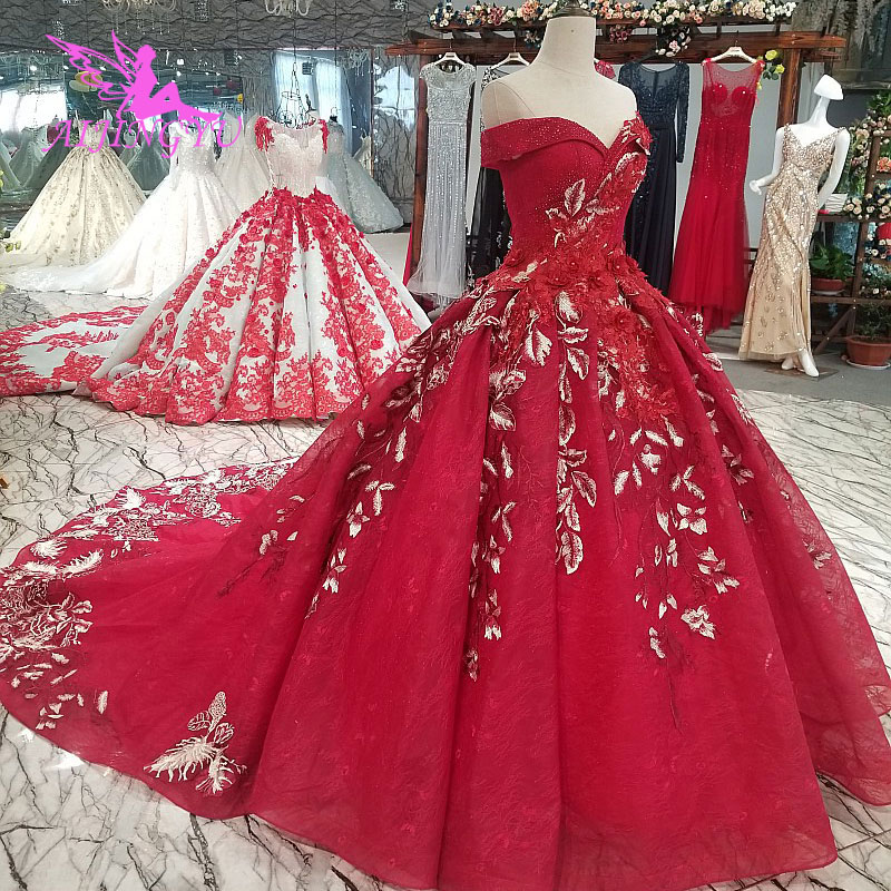 AIJINGYU Winter Wedding Gowns Informal Dresses 3D Brides Gothic United  States Gypsy Gown Wedding Dress Beaded-in Wedding Dresses from Weddings    Events on ... 40d8d1549472