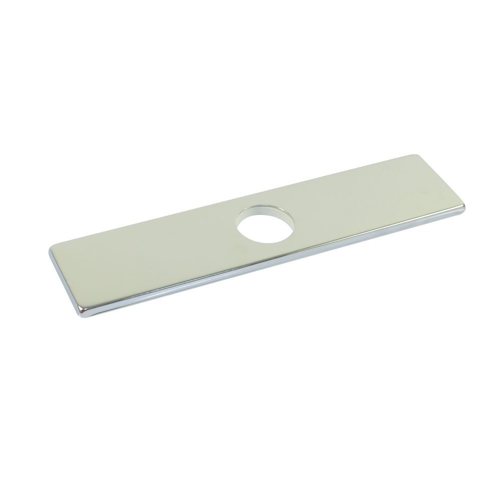 10 Inch 25 4cm Square SUS304 Stainless Steel Kitchen Sink Faucet Hole Cover Deck Plate Escutcheon