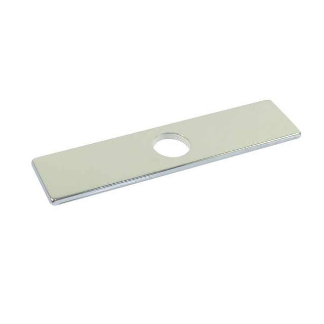 Bon 10 Inch 25.4cm Square SUS304 Stainless Steel Kitchen Sink Faucet Hole Cover  Deck Plate