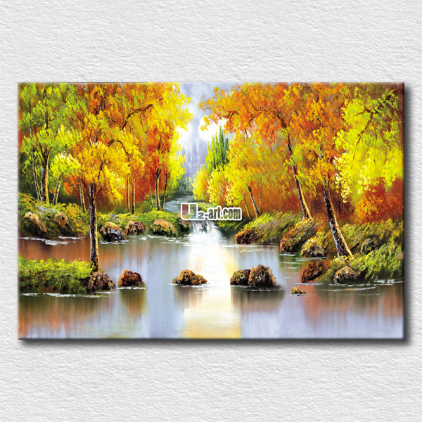Us 11 76 Modern Home Wall Paintings Natural Scenery Oil Painting Printed On Canvas Friends Gift Wall Deocration In Painting Calligraphy From Home