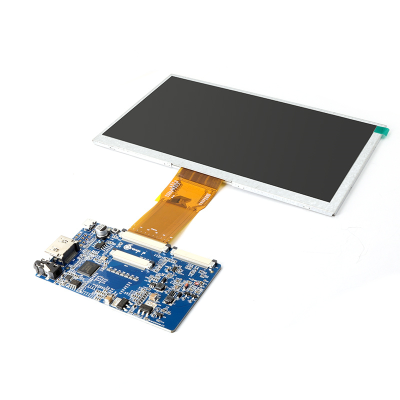 LCD Display 1024*600 TFT Screen+Interface Board Orangepi h3 development board LCD Screen tft Screen 7 inch for Orange Pi 232 142mm 1024 600 table pc 10 1 inch for allwinner a10 a13 tft lcd display screen hw101f 0a 0e 10 20