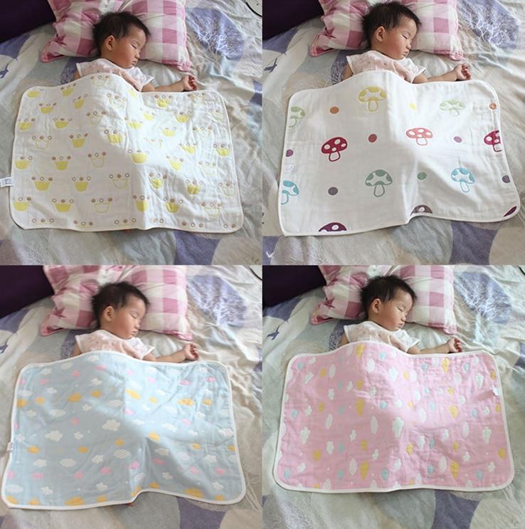 Cotton 80*50cm Cartoon Baby Blanket Swaddling For Toddler Bedding Set Infant Multifunctional Envelopes For Newborns