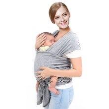 Respirant Porte-Bébé Ergonomique Pour 0-3ANS Infantile Sling Siège Pour  Hanche Hipseat Doux Naturel Echarpe Porte-Bébé Sac À Dos. 34df458d0fb