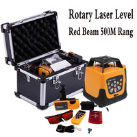 Automatic Red Laser level 500m with remote control Rotary Laser Construction Laser