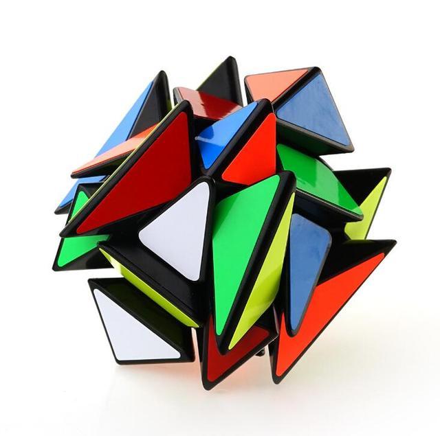Yongjunさんyj軸マジックキューブ変更不規則なjinggangルービックマジックスピードキューブつや消しステッカーyj 3 × 3 × 3ホット販売