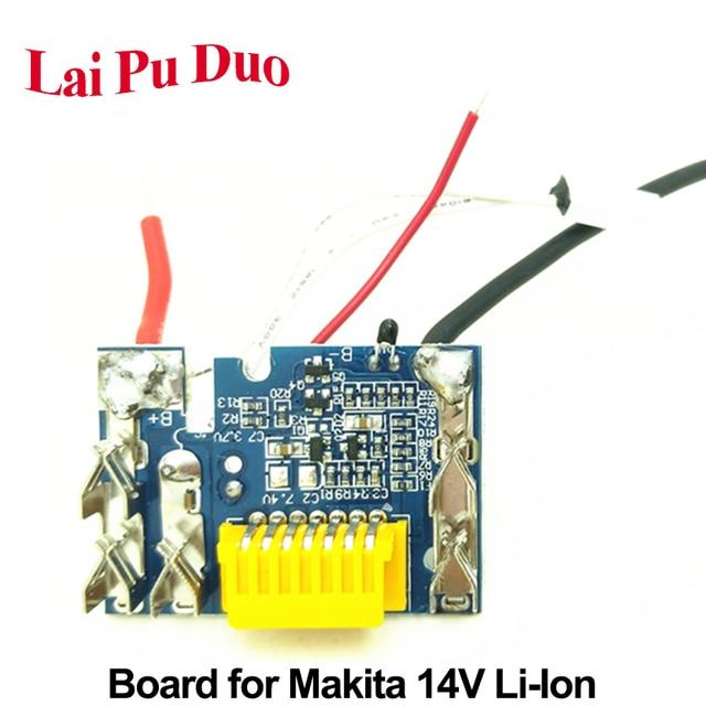 For Makita 14.4V 1.5Ah 3.0Ah 4.5Ah BL1430 Li ion Battery PCB Circuit Board BL1460 BL1415 BL1440 BL1445 Charging Protection