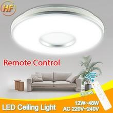 цены Green Eye Modern ceiling lights 12W 24W 36W AC 220V 240V led ceiling light lamparas de techo led lamp Living Room Remote Control