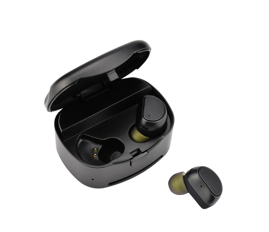 Truly Wireless Bluetooth Headphones Earbuds  Mini Ture Wireless Headset Stereo Earphone With 450mAh Portable Charging Case q2 mini bluetooth headset stereo wireless earphone headphones music car driver headset stealth earbuds mic with charging socket