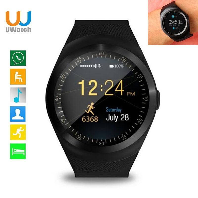 Smart Watch Round Support Nano SIM TF Card With Whatsapp And Facebook Men Women Business Smartwatch