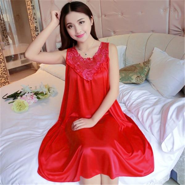 Hot Women Night Gowns Sleepwear Nightwear Long Sleeping Dress Luxury Nightgown Women Casual Night Dress Ladies Home Dressing Z79 17