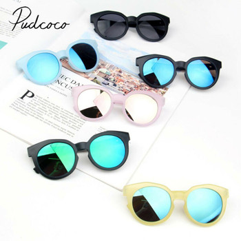 2019 Детские аксессуары, детские солнцезащитные очки для мальчиков и девочек, яркие линзы, защита UV400, стильная детская оправа, внешний вид