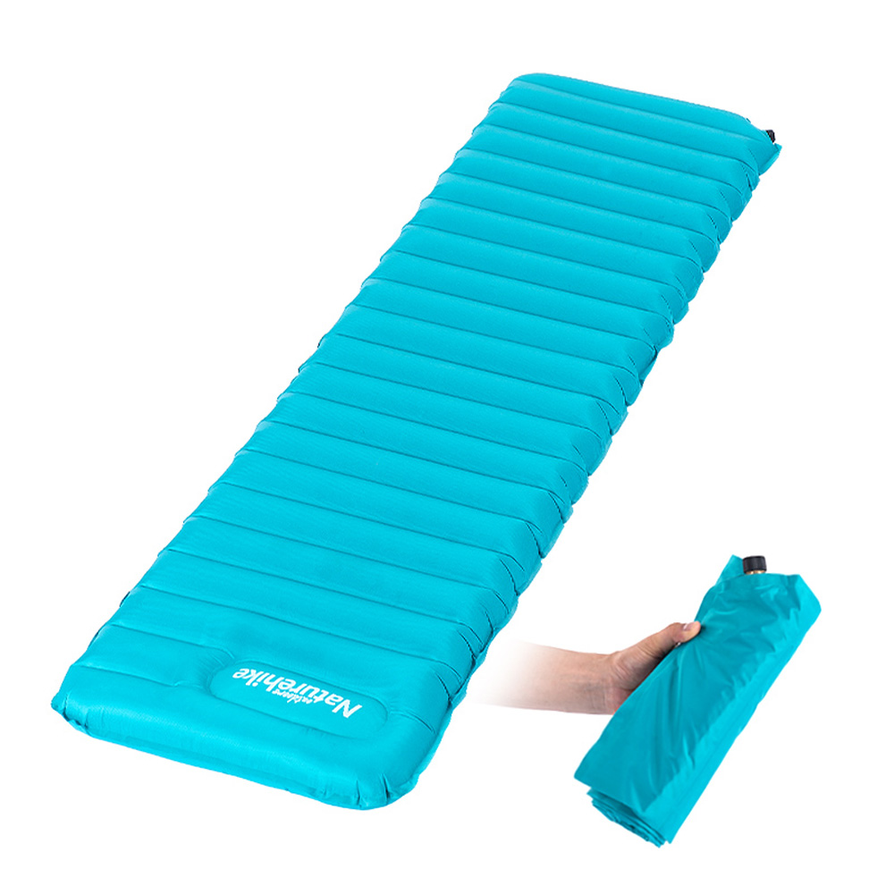 Naturehike Manual Inflatable Hand Press Inflating Dampproof Sleeping Pad Camping Tent Air Mat Mattress Larger Size 193 60 9cm In Underwear From Mother