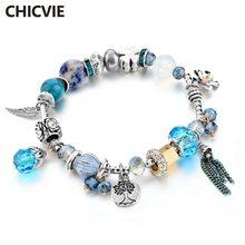 Chicvie Бохо этнические винтажные браслеты и diy ювелирные изделия