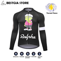 2017 New Men Pro Team Custom Cycling Jersey Bicycle Long Sleeve Winter Thermal Fleece Belgium Jerseys Bike Clothing Ropa Ciclism