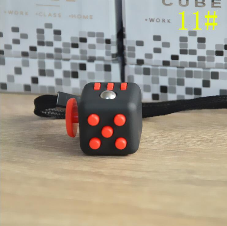 11Styles Squeeze Fun Stress Reliever Gift Fidget Cube Relieves Anxiety and Stress Juguet For Adults Fidgetcube Desk Spin Toys