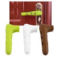 Детская домашняя дверная ручка, защитная крышка, силиконовый чехол дверная ручка для защиты nti-collision продукт для безопасности детей