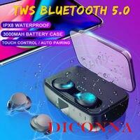 Bluetooth 5,0 гарнитура СПЦ True Беспроводной наушники мини IPX8 стерео наушники