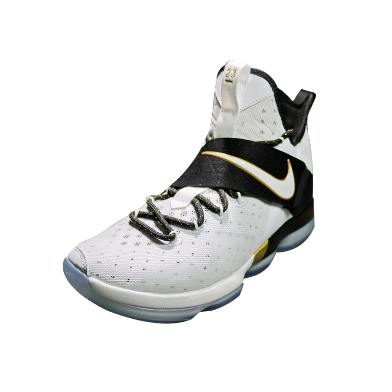 separation shoes 1948e cfe49 NIKE LeBron 14 BHM LBJ14 Men Basketball Shoes, Shock Absorption Non Slip  Wear Resistant,Outdoor Sneakers Shoes,White 860634 100-in Basketball Shoes  from ...