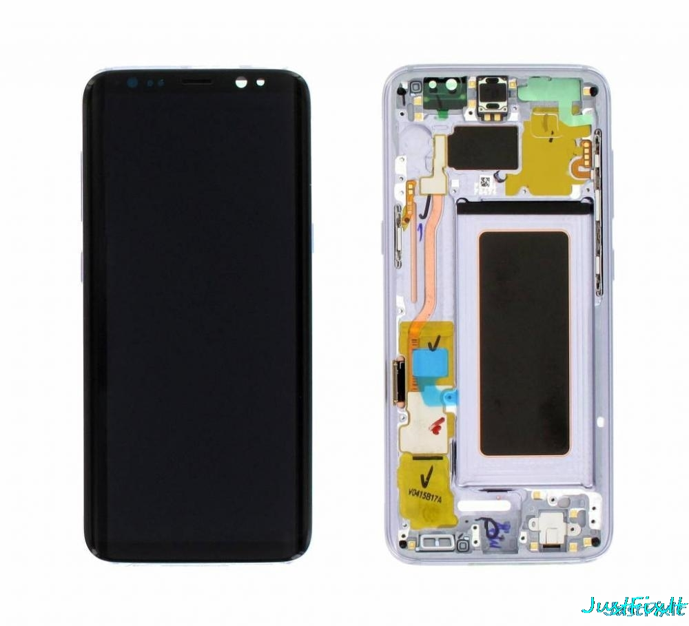 For Samsung <font><b>Galaxy</b></font> <font><b>S8</b></font> G950F G950U G950FD Burn-in Shadow Lcd <font><b>Display</b></font> Touch Screen Digitizer Super AMOLED Screen With Frame image