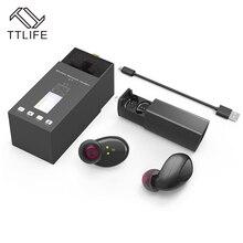 TTLIFE мини Беспроводной Bluetooth 4.1 стерео наушники СПЦ спортивные наушники Handsfree с Мощность банка для iPhone 7 airpods Xiaomi