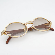 Diamond Sunglasses Vintage Sunglasses Retro Shades Men Sun Glasses Fashion Women and Men Glasses Frame with Luxury Eyewear178