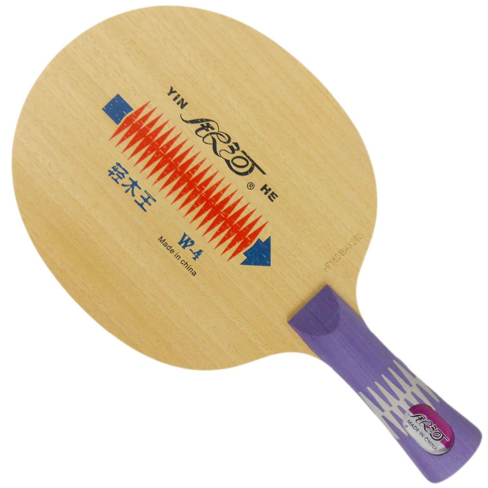 Yinhe Milky way Galaxy W-4 Light Wood King (W4 W 4) table tennis PingPong blade 2015 The new listing Favourite