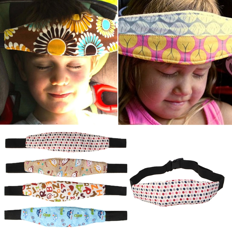 New Fixing Baby Head Support Holder Sleeping Belt Auto Car Seat Belt Stroller Safety Band 4 Styles Head & Body Supports