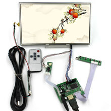 цены HDMI LCD Controller Board with 10.1inch B101XAN01.2 1366x768 AHVA LCD Screen  lcd panel with  touch panel