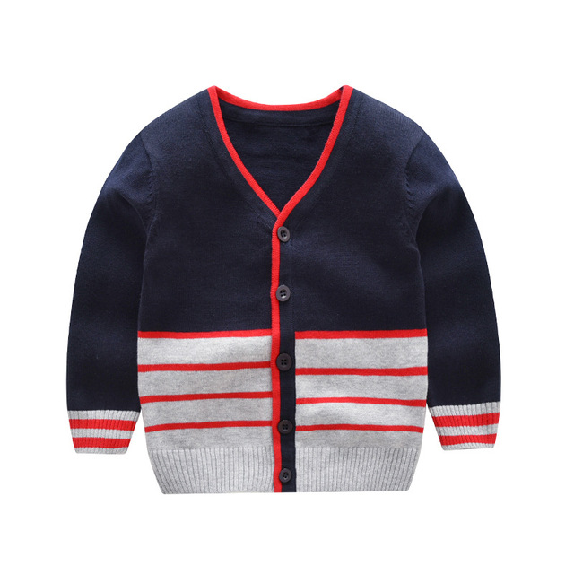 2821bbd9f 2018 Kids Boys Sweater Children s Cardigans 2018 Autumn Winter Boy ...