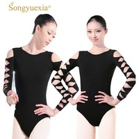 Adult Ballet Dancing Leotard Stage Wear Dance Clothes Female Ballet Dance Coverall Women's Leotards Ballet Dance Coverall costum