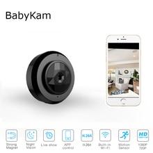 BabyKam WiFi IP Camera 720P Mini Action Cam Motion Sensor Loop Recording Sports DV Wearable Body Micro Camera Night Vision