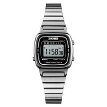 цена SKMEI Top Fashion Watch Womens 30m Waterproof Multifunction LED Digital Watch Business Casual Wrist Watch Models Relogio Watches онлайн в 2017 году