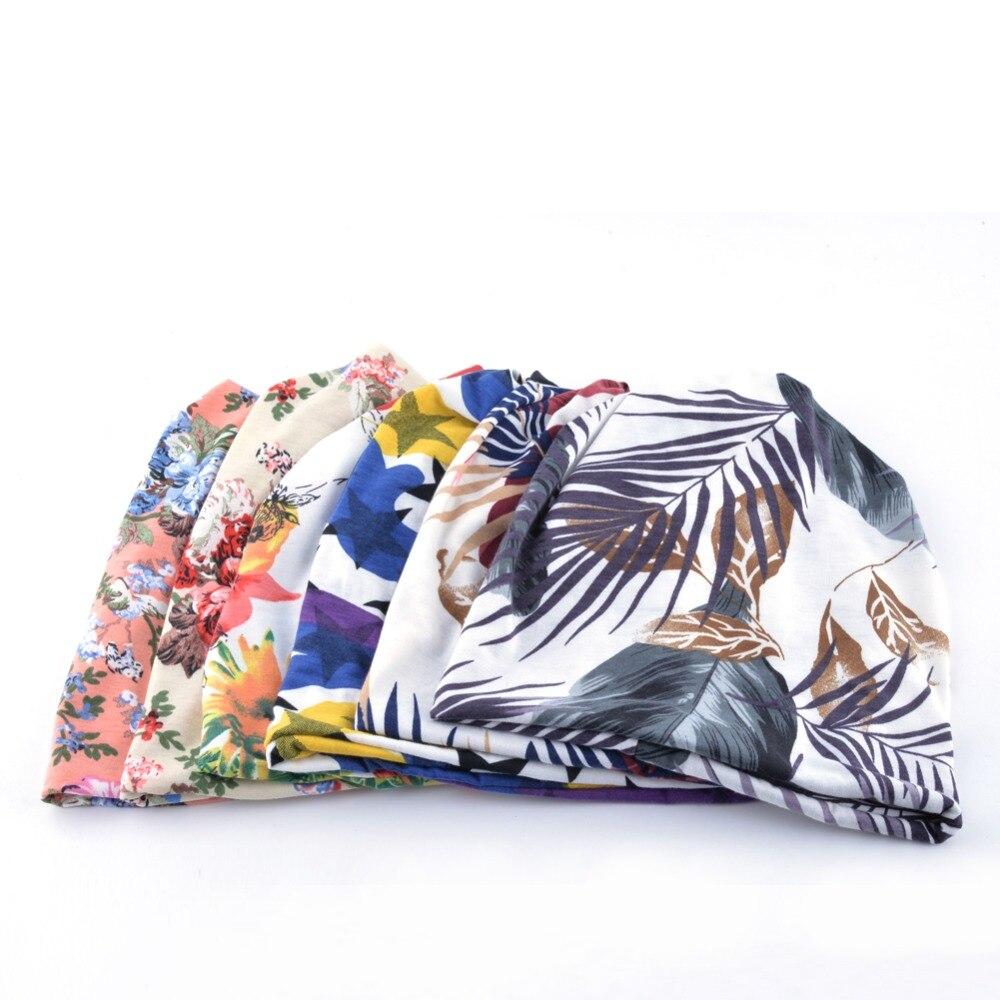 TQMSMY Multicolor Spring Turban Mössor för kvinnor Beanies mäns - Kläder tillbehör - Foto 6