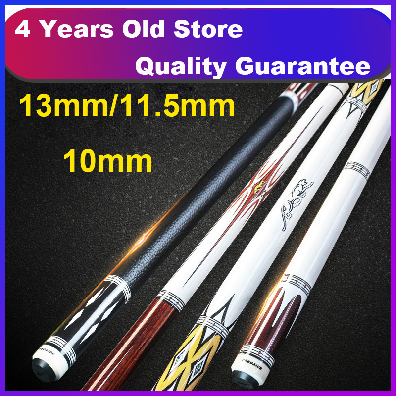 2019 PREOAIDR ON Series Pool Cue Stick 13mm 11 5mm 10mm with Black Pool Cue Case