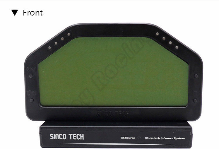 US $315 0 |6 5inch Race Dashboard Waterproof 9000rpm Rally Gauge SENSOR KIT  LCD Screen Display Gauge-in Gauge Sets & Dash Panels from Automobiles &