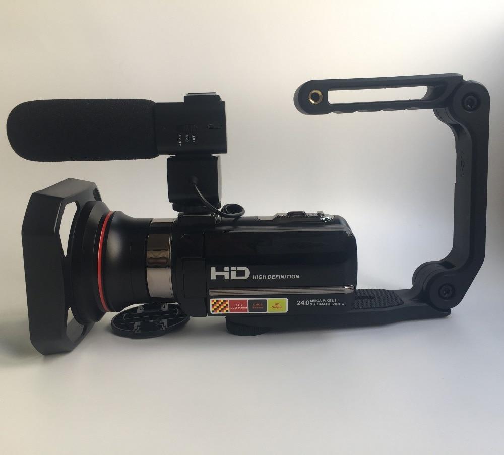 Nouveau Style Professionnel Vidéo Caméra HDV-301STRM Nuit Vision Tir 3.0