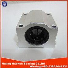 High quality 4 pcs SC20UU SCS20UU 20mm linear ball bearing slide unit 20mm linear bearing block