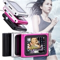 "6th Gen 1.8inch 1.8"" LCD FM Radio Video Music Mp3 Mp4 Player Support 2G 4GB 8GB 16GB Card WMV format TFT 262K color screen"