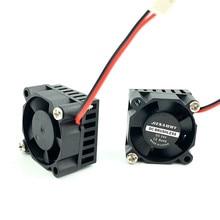 Принтер кулер 3010 30 мм мини вентилятор 12 В 5 в 24 В с алюминиевым радиатором 3 см DC бесщеточный вентилятор для 3d принтера охлаждения