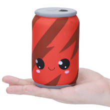 купить Jumbo Cola Cans Squishy Simulation Slow Rising Fashion Squeeze Toy Soft Stress Relief Sweet Scented Original Package for Kid Toy по цене 239.95 рублей