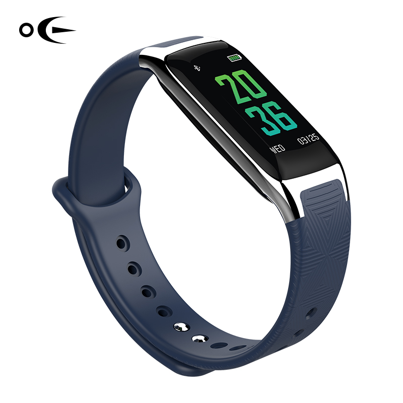 OE18 2017 fashion Smart Bracelet Fitness Tracker Step Counter Activity Monitor Band Vibration Wristband for iphone Android phone