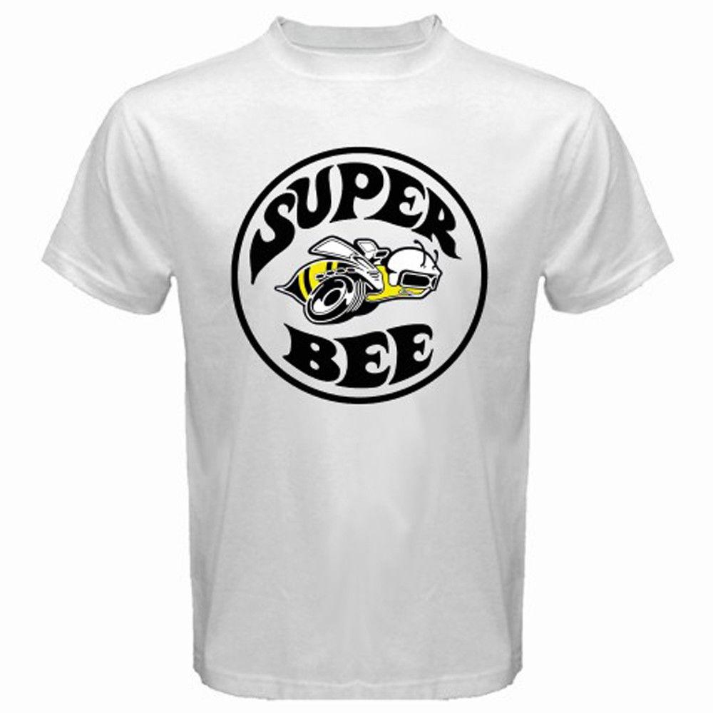 Camisetas Velocitee Manga Larga Camiseta para hombre Super Bee Muscle Car Clásico Dodge A21143