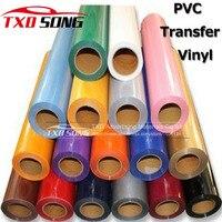 ПВХ высшего качества передачи винил для передачи тепла на рубашки, ПВХ пленка передачи с Размеры: 50 см x 25 м в рулоне