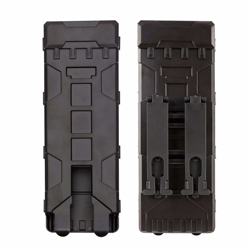 Ammo Bag 10 Rounds 12GA 12 Gauge Ammo Shells Hunting Gun Case Accessories  Airsoft MOLLE Box  Fast Loading Clip Holder Box(China)