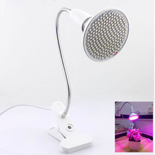 200 Leds LED Grow Light with 360 Degrees Flexible Lamp Holder Clip Plant Flower Growth Light Growing for Indoor Desktop Plants